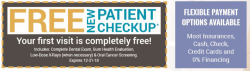 FREE New Patient Check-up