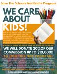 Save The Schools Real Estate Program