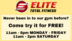 Visit our gym for FREE!